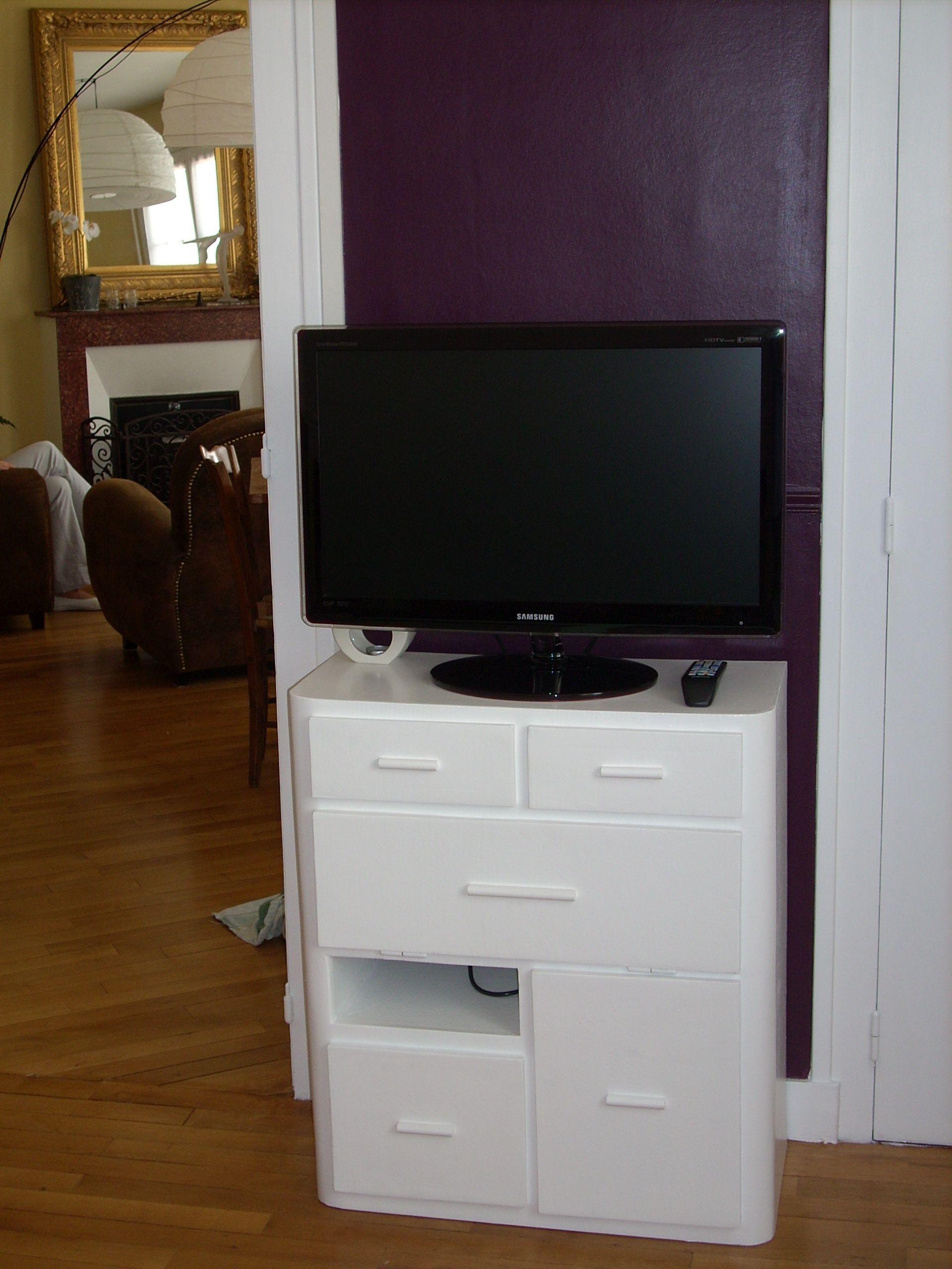 Sg Mobilier Carton Meuble Tv En Carton Www Mobilier Carton Sur  # Meuble Tv En Carton