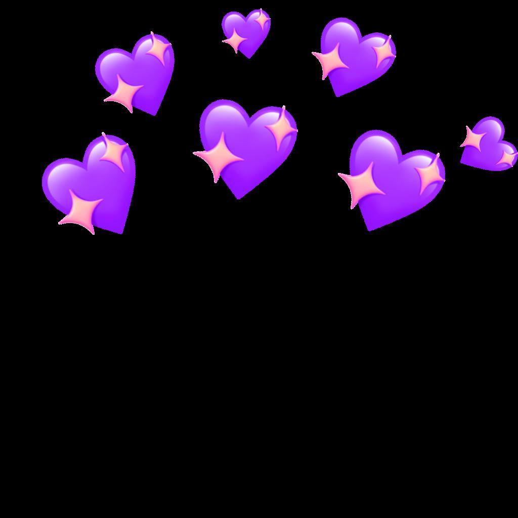 Hearts Crown Heartscrown Pink Tumblr Snapchat Overlays Tumblr Emoji Backgrounds Emoji Photo