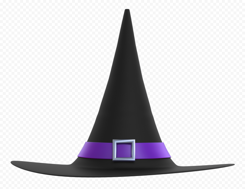 Hd Witch Hat Cartoon Illustration Halloween Png Cartoon Illustration Witch Hat Png