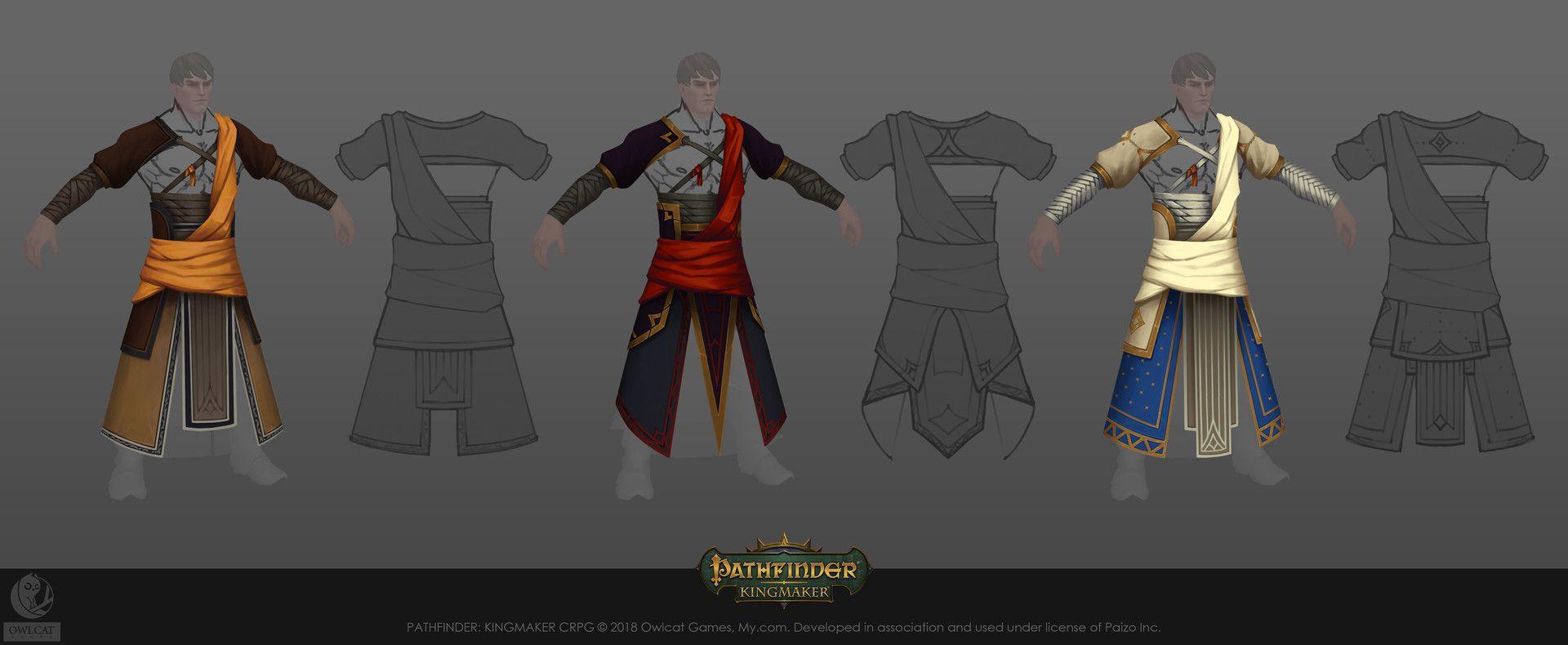ArtStation - Pathfinder: Kingmaker, Vasiliy Vlasov | Weapon