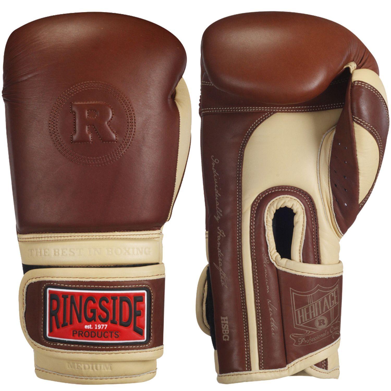 Boxing Gloves Vintage Leather T3 Kanpeki Hook and Loop Full Grain Leather
