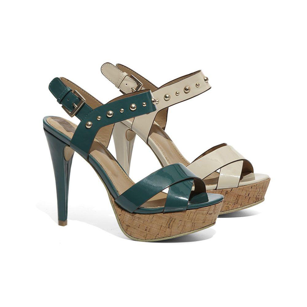 Sandalo in vernice con tacco 12cm - Donna - Collezione Scarpe Donna -  Pittarello Rosso