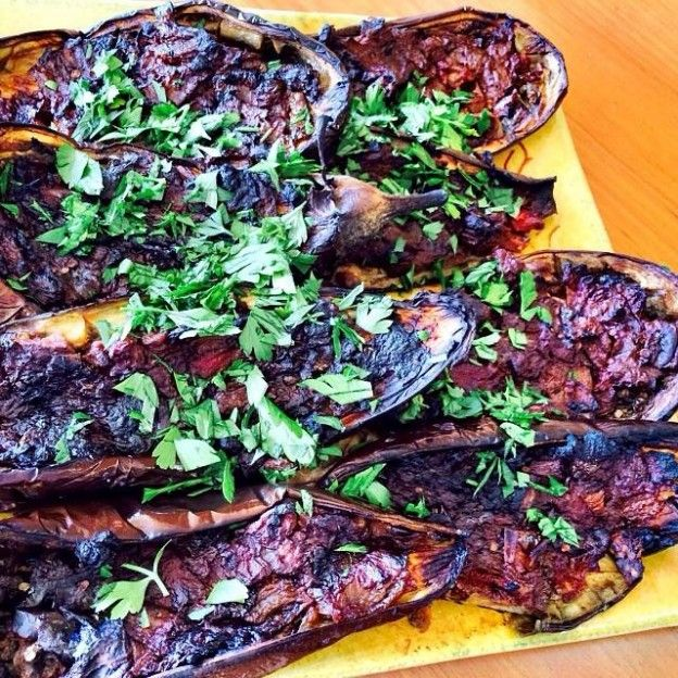 Stuffed eggplants jessica sepel food healthy foods pinterest meals forumfinder