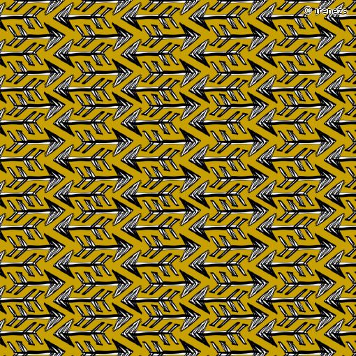 "Arrow Fabric | Pattern Motiv: ""pinsel pfeile"" (#69125) © irenezs"