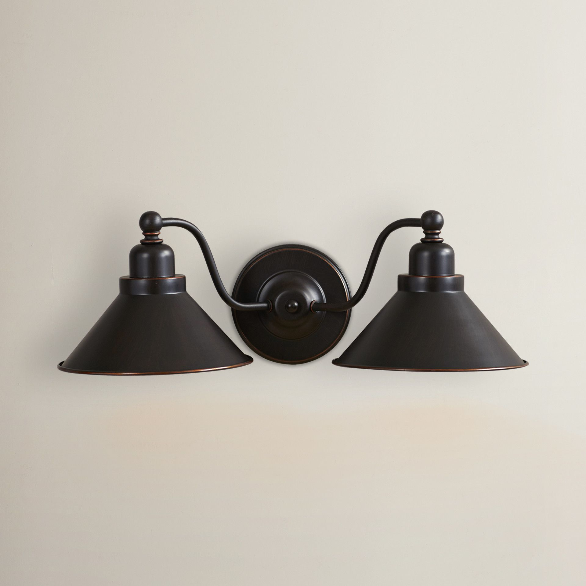 Trent Austin Design Schaff 2 Light Wall Sconce in Mission Dust