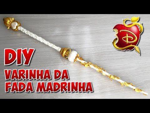 Varinha Magica Da Fada Madrinha Disney Descendentes Diy