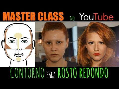 Contorno para Rosto Redondo | MasterClass no Youtube 7 - YouTube