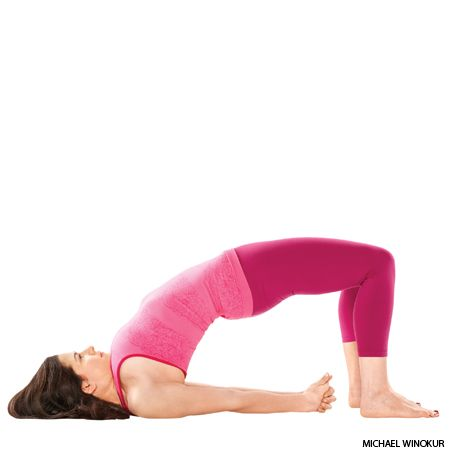 bridge pose  yoga  yoga benefits easy yoga poses yoga