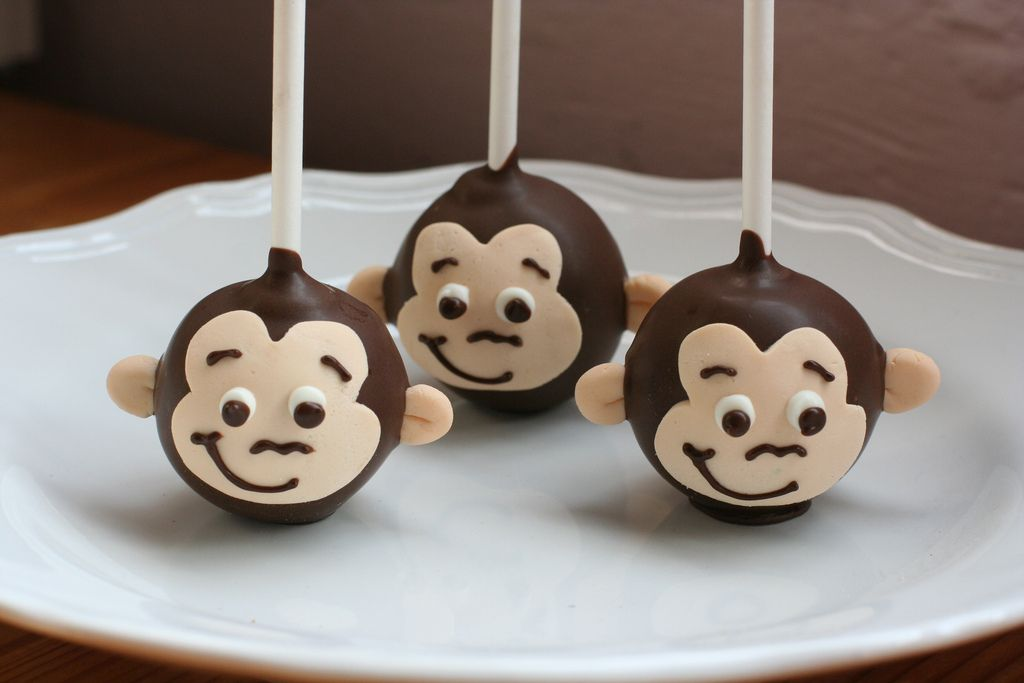 Curious George Cake Pops | Flickr - Photo Sharing!