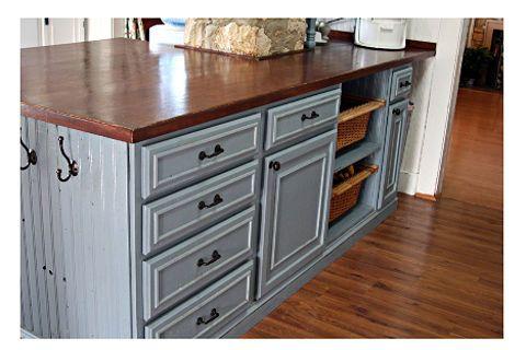 my kitchen on a budget, home decor, kitchen design, kitchen islands