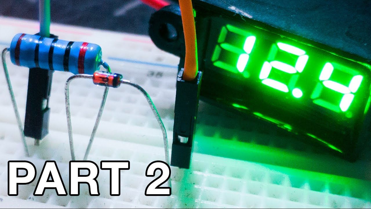 Using Zener Diodes Part 2 Making A Voltage Regulator Arduino Diode And In Simple Circuit
