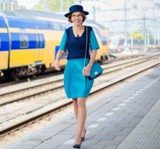 Carla Dik, foto: Maaike Poelen, NS