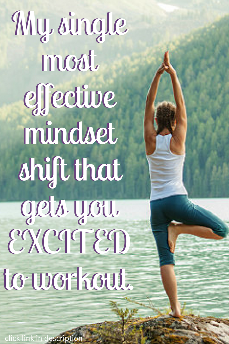 """Did you know there's a simple mindset shift, that will completely revolutionize how you think about working out on a regular basis? I've taught this mindset shift to over 500 women. The majority of women have a """"light bulb"""" moment, WHICH leads to them exercising more often. That's exactly what we're talking about in this free Wildly Alive Weight Loss Coaching Call. This is part 4 of this free coaching series, """"How to become a person who looooves to workout""""."""