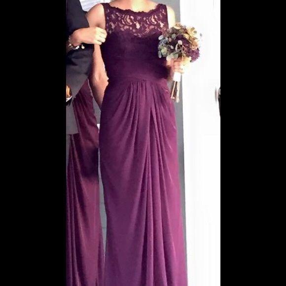 Plum Formal Dress From David S Bridal Davids Bridal Bridesmaid Dresses Plum Bridesmaid Dresses Bridesmaid Dresses