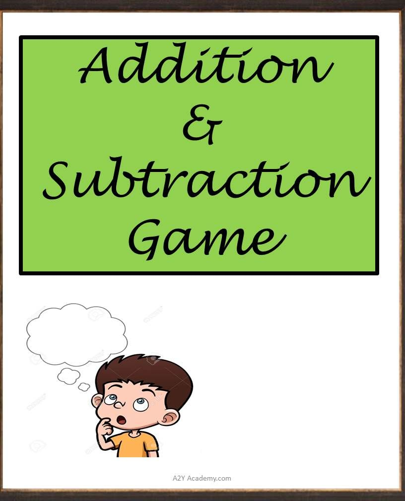 This is a fun game which teaches the children addition and ...