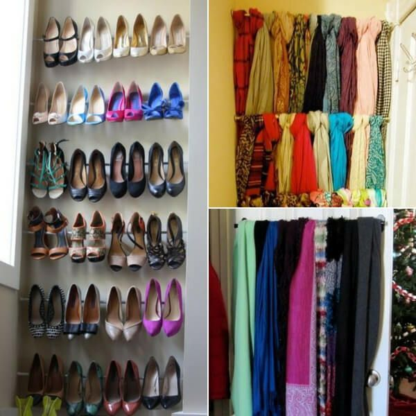 Closet Ideas For Small Spaces: Diy Closet Organization Ideas On A Budget For Small Spaces
