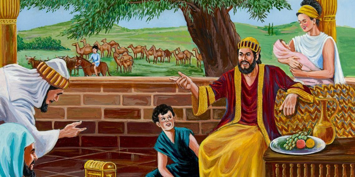 The Book of Job Bible stories, Job bible