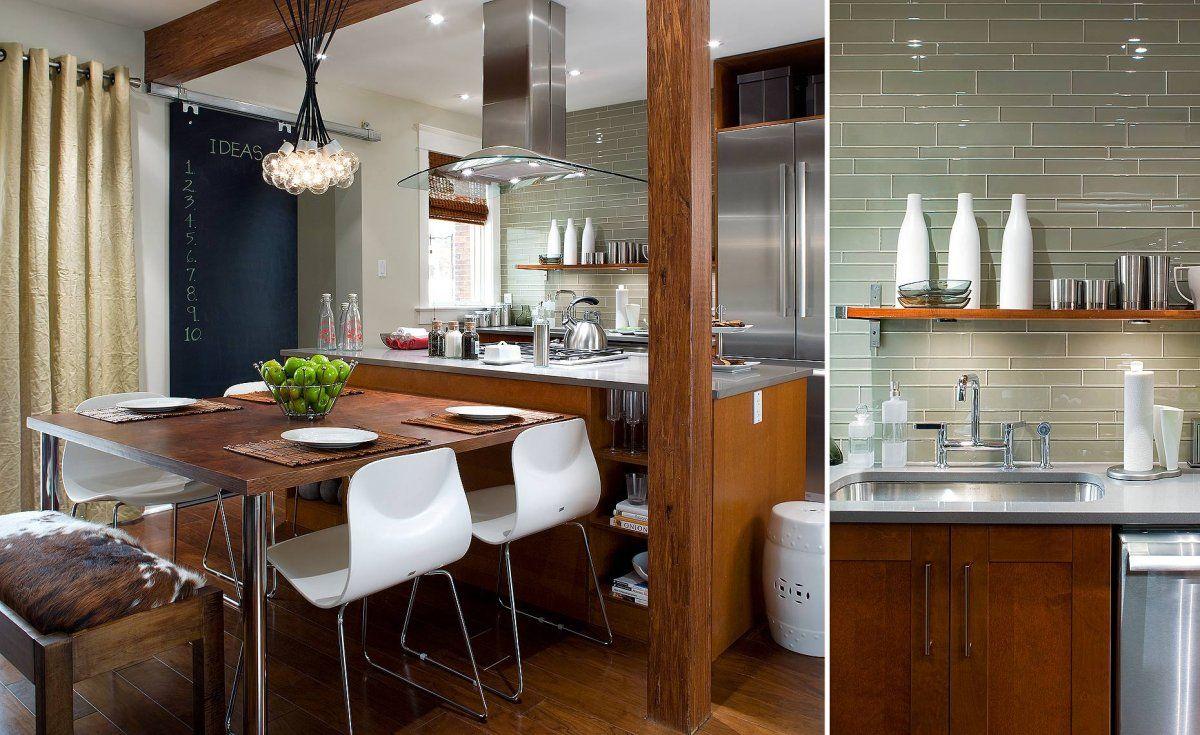 Kitchen Mesmerizing Modern Small Candice Olson