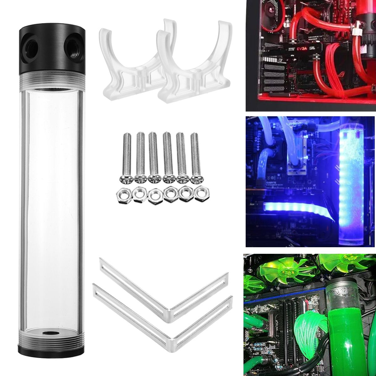 G1 4 T 50mm X 400mm Reservoir Helix Suspension Water Liquid