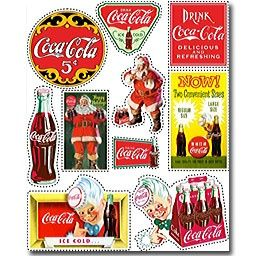coca+cola+scrapbook+stickers   Coca-Cola Scrapbooking Stickers