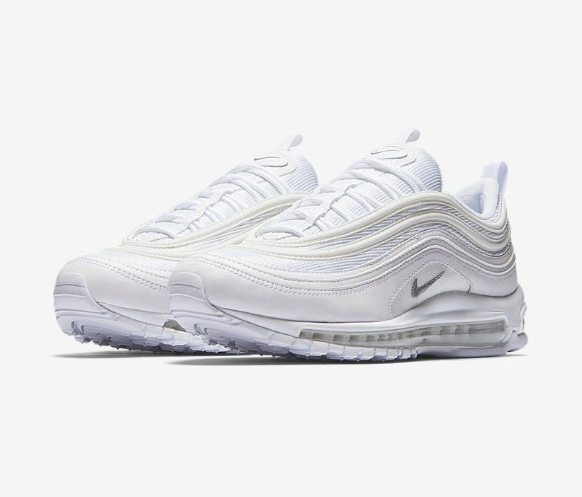 "Nike Air Max 97 ""Triple White"" 