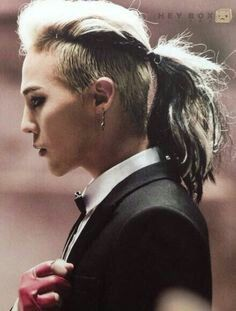 Long Hair G Dragon Hairstyle G Dragon Kpop Hair