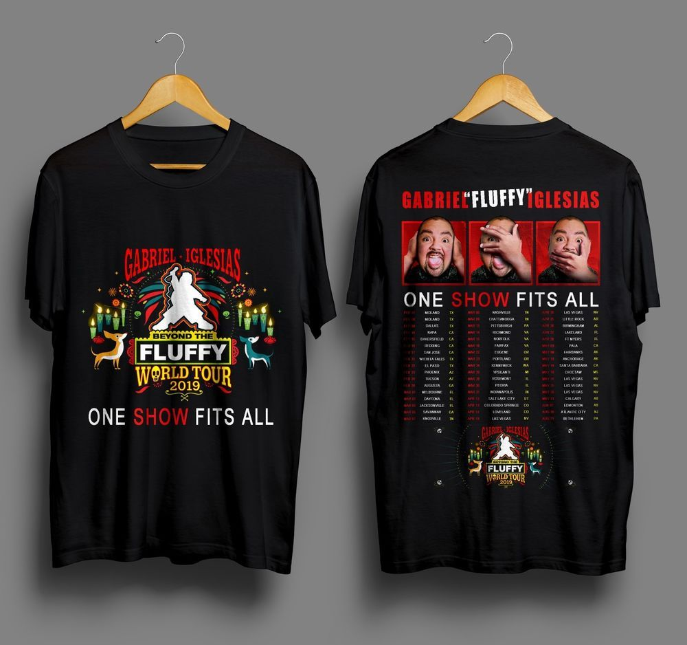 850de5bf2f6a Stand Up Comedy Gabriel Iglesias Beyond The Fluffy World Tour 2019 T-Shirt  Men's #fashion #clothing #shoes #accessories #mensclothing #shirts (ebay  link)