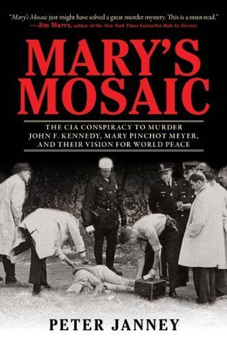 This book gives a very different perspective into the assassination of President Kennedy, and how the murder of Mary Pinchot Meyer was connected. Good Read!