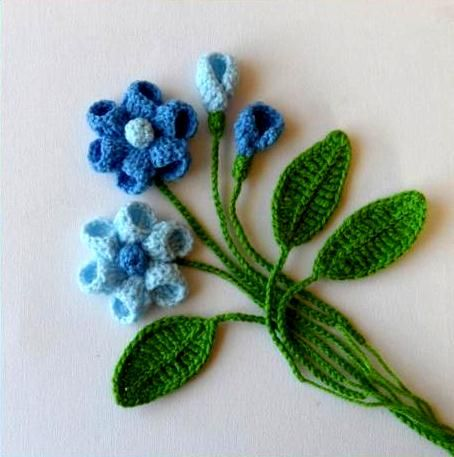 Easy Crochet Flower Pattern Beginners : Crochet Flower Patterns And ...