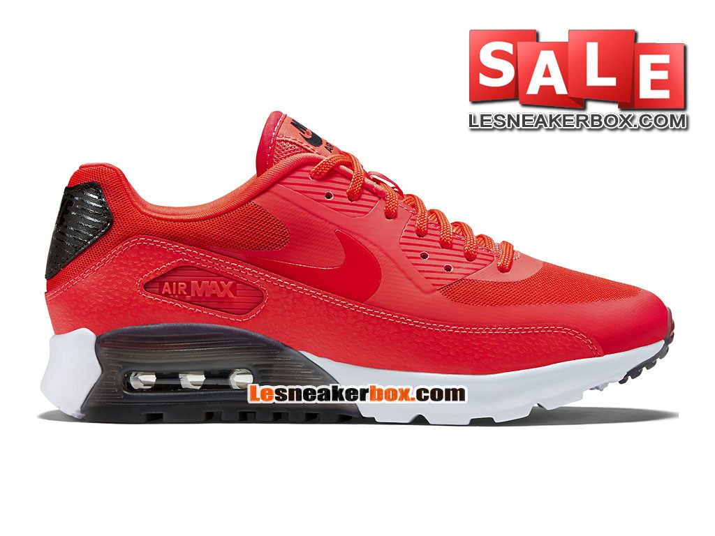 Returning of the warmer months of Spring/Summer is the Ultra Essential  edition of the Nike Air Max This Nike Air Max 90 Ultra Essential Infrared