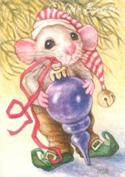 Днем, открытки в год крысы