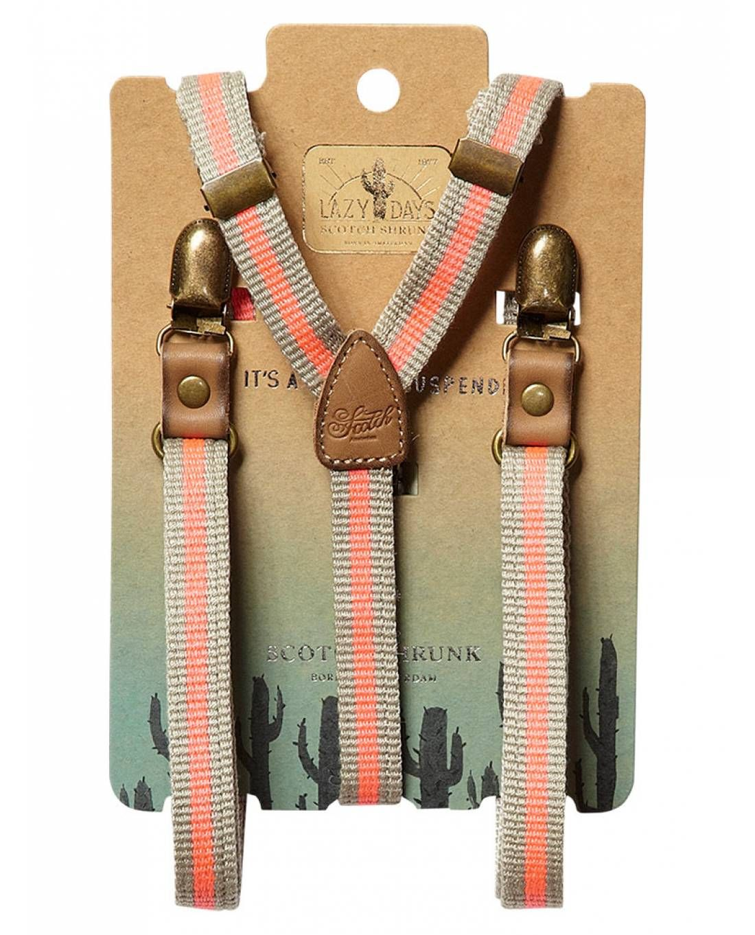 Suspenders - Belts - Scotch & Soda