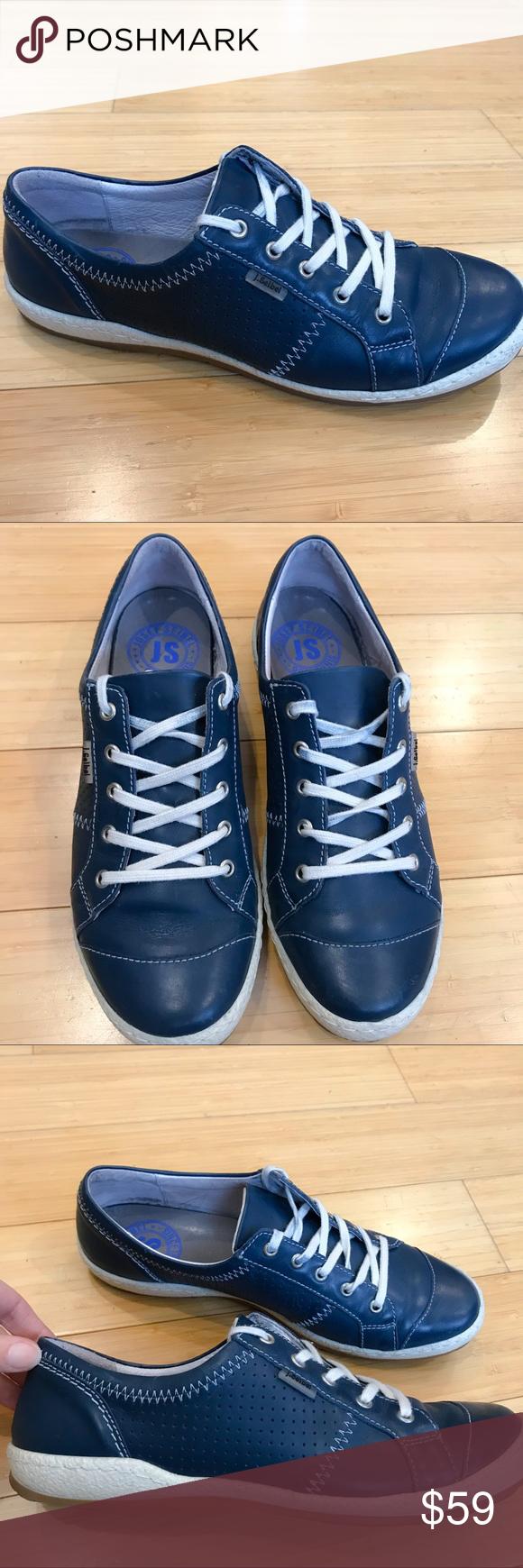 JOSEPH SEIBEL Caspian blue sneakers, 40
