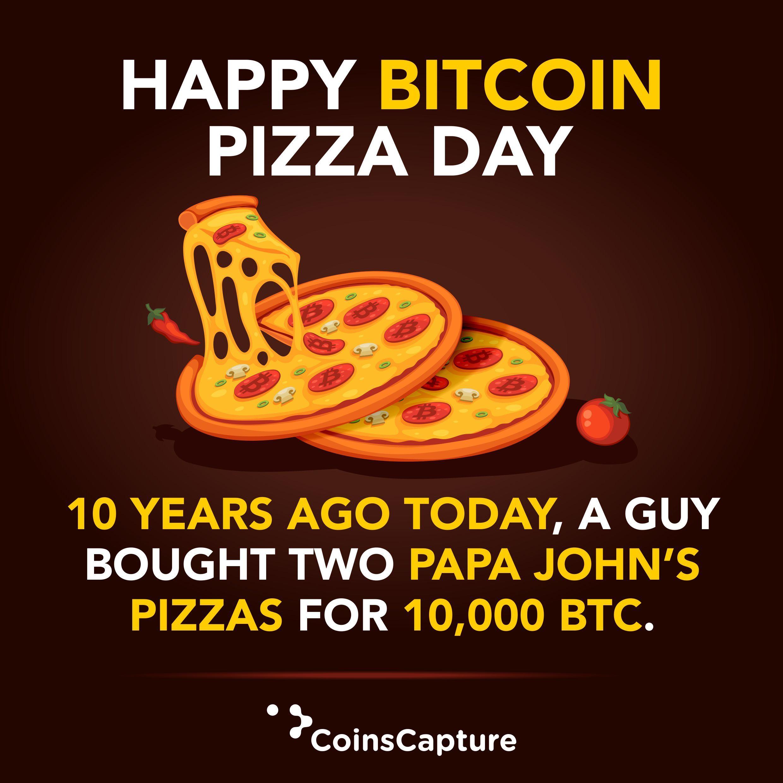 Bitcoin Pizza diena: Švenčiant $ 20 mln Pica Užsakymas