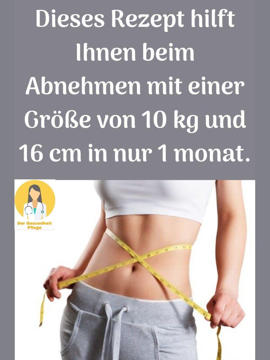 wieviel kilo abnehmen im monat ist gesund