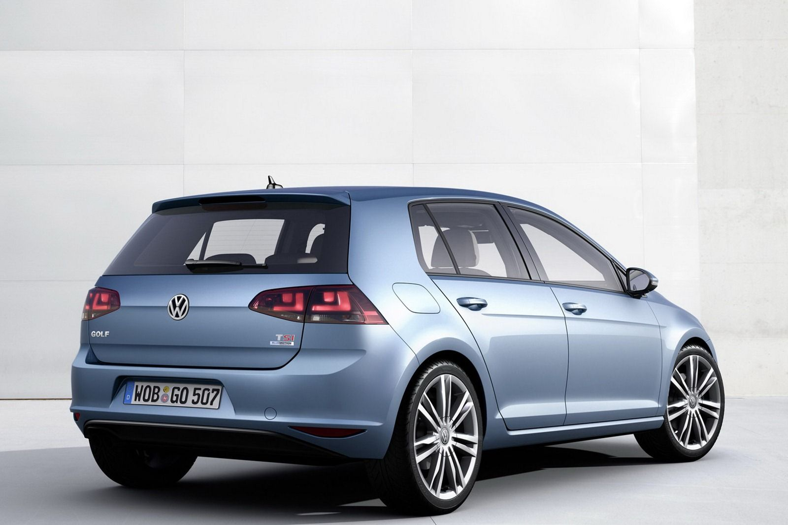 All new 2013 volkswagen golf mk7 this is really it first official photos