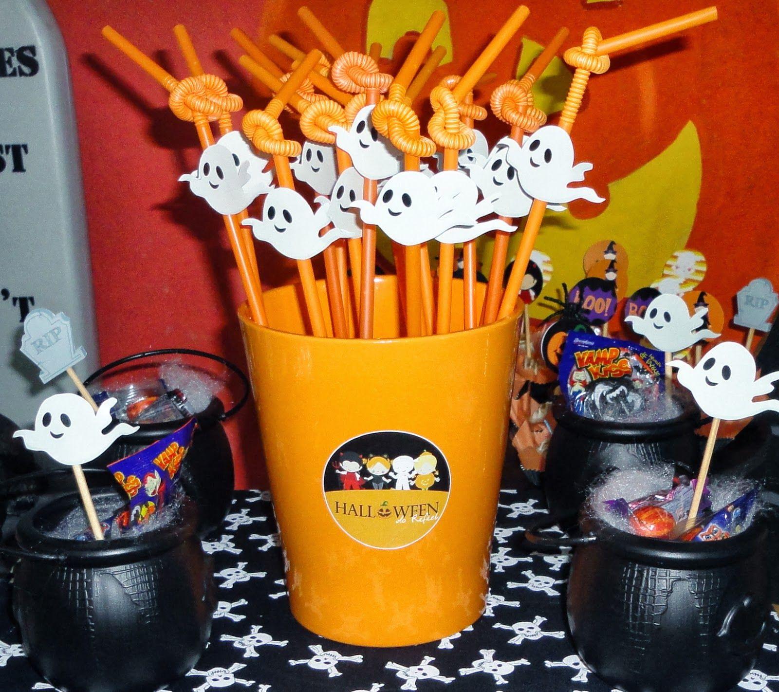 DECORA u00c7ÃO PARA FESTA DE HALLOWEEN DIA DAS BRUXAS, DICAS, EM CASA, SIMPLES, BARATA coisas pra  -> Decoração Simples De Halloween