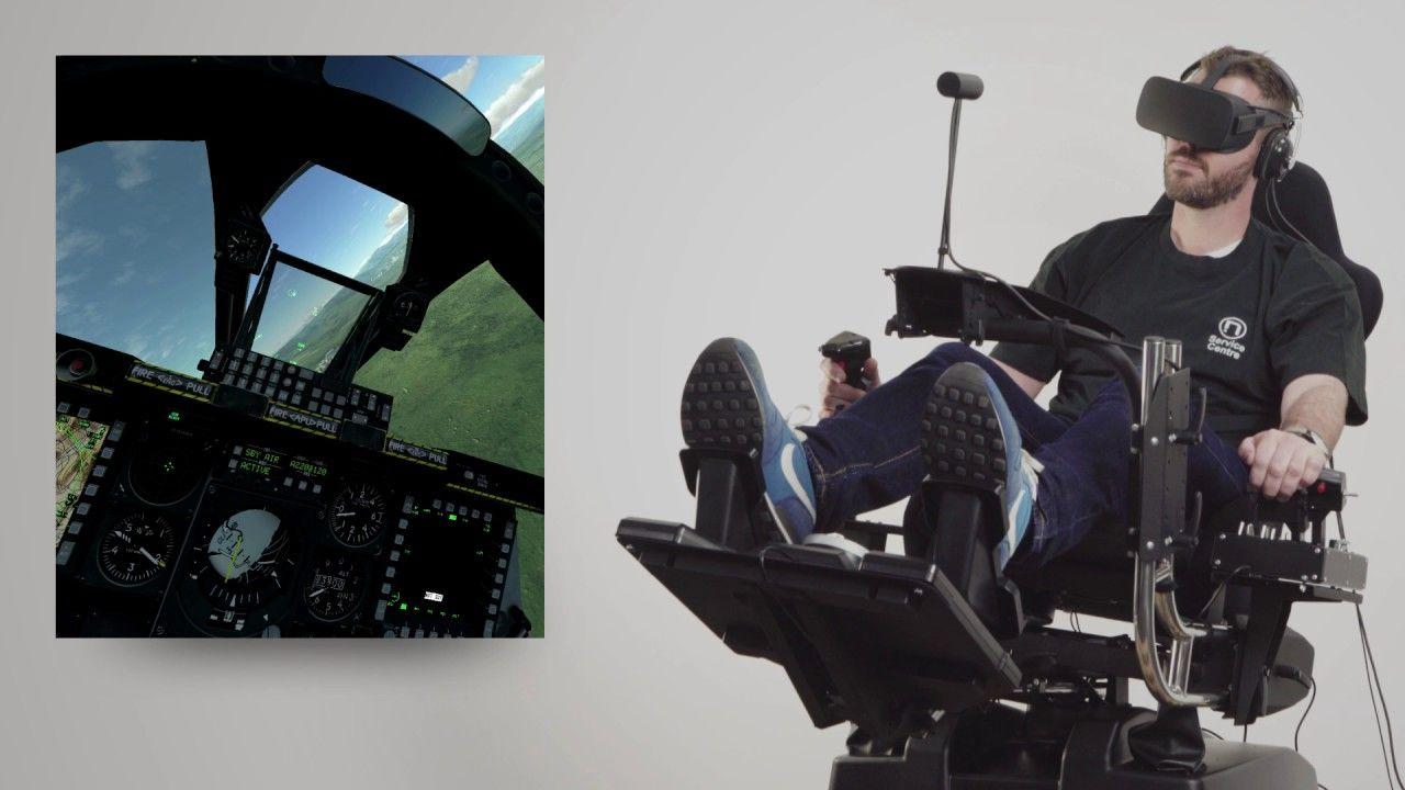 DCS World Atomic A3 Motion Simulator Gameplay Footage