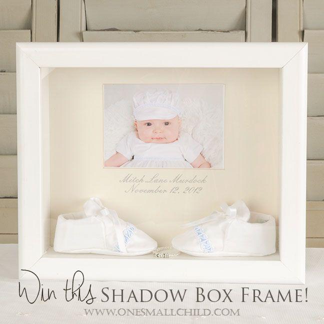 november giveaway white shadow box frame one - White Shadow Box Frame