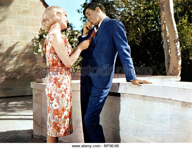 Jerry Lewis Francine York The Disorderly Orderly 1964 Behind