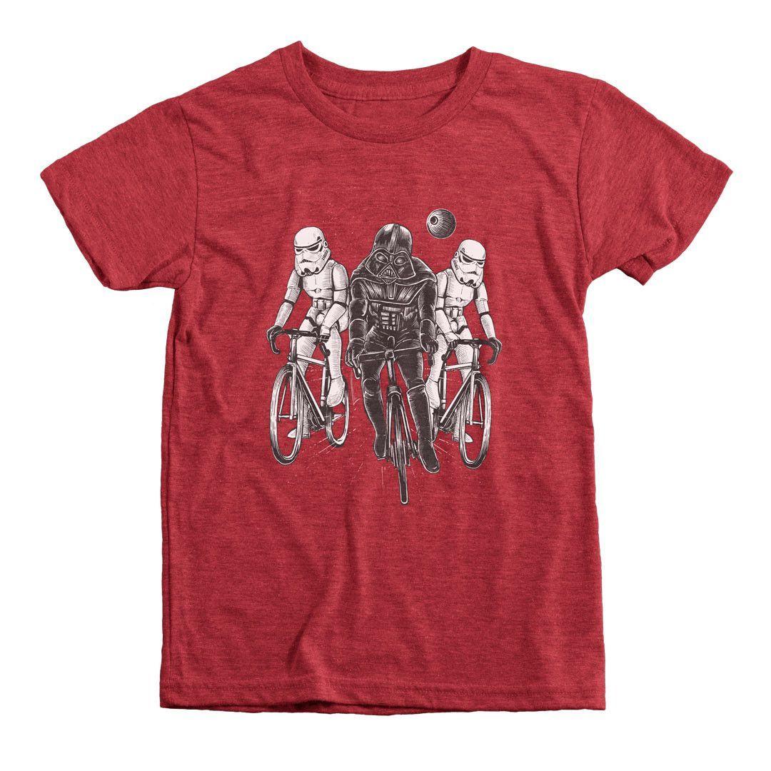Kids Stormtrooper BMX  Printed T-Shirt