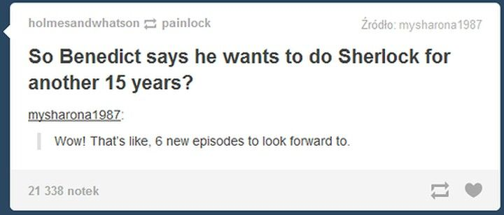 """80 years later season 6 """"hurry up john!""""     """"Sherlock! I'm in fount of you!""""        """"Oh shut up and waddle!"""""""