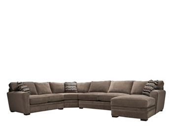 Magnificent Artemis Ii 4 Pc Microfiber Sectional Sofa W Full Sleeper Download Free Architecture Designs Terstmadebymaigaardcom