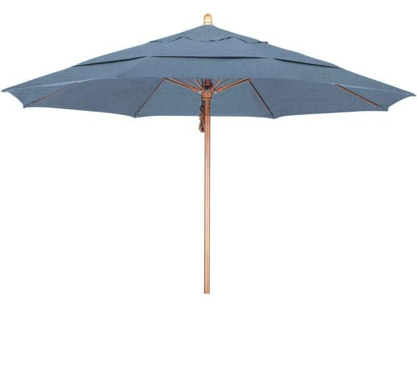 This 11 Foot Umbrella Is Sure To Keep You Protected And Cool From The Sun Made From Our Wooden Pole Finish It Is Sure To Be The Hi Patio Patio Umbrellas