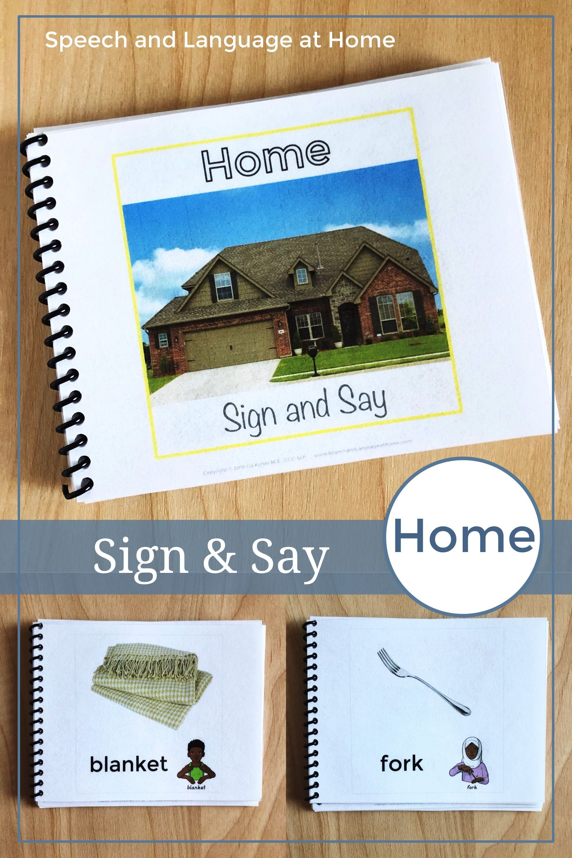 Home Sign Language Printables Speech Therapy Books Asl Flash Cards