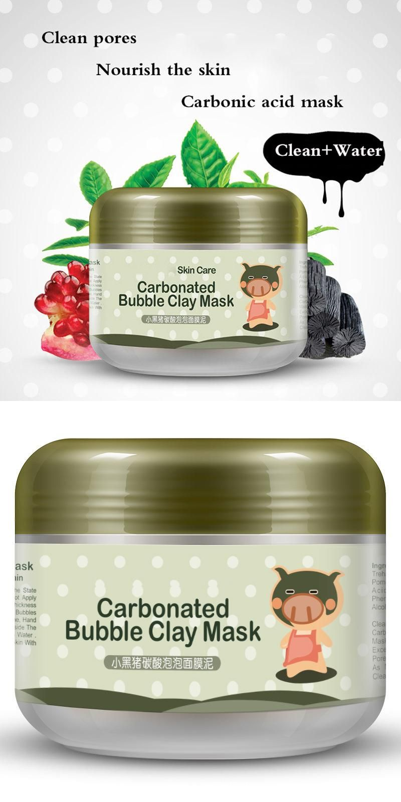 Visit To Buy Skin Care Pigskin Collagen Nourishing Mask Carbonated Bubble Clay Mask 100g Advertisement Carbonated Bubble Clay Mask Skin Care Clay Masks