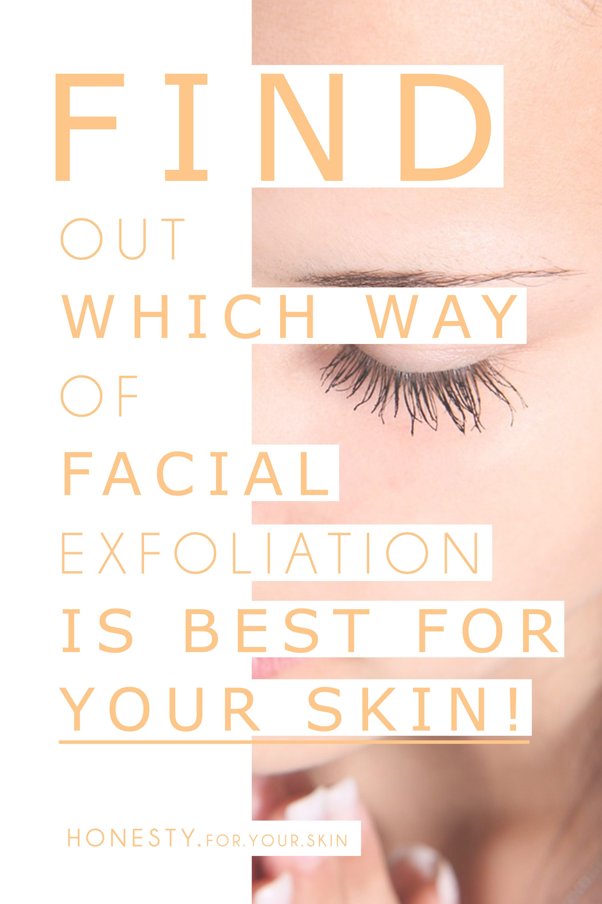 There's a BILLION choices out there when it comes to SKINCARE. This is the ULTIMATE guide you will ever need to help you choose which facial exfoliate is BEST for your awesome skin!