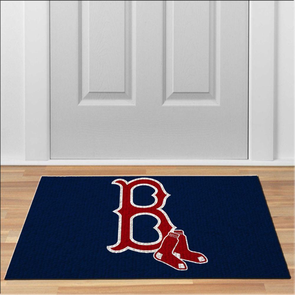 awesome boston red sox logo mascot MLB Baseball Floor Durable Door Mat Non-Slip  sc 1 st  Pinterest & awesome boston red sox logo mascot MLB Baseball Floor Durable Door ...