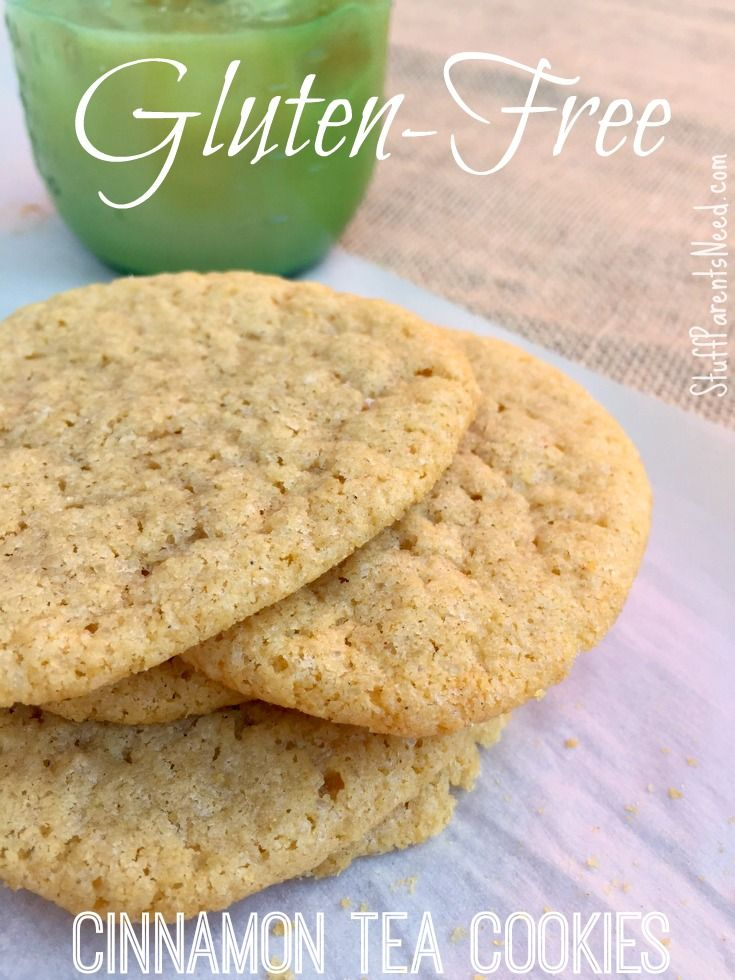 gluten-free cinnamon tea cookies. Easy to make and quite delicious!