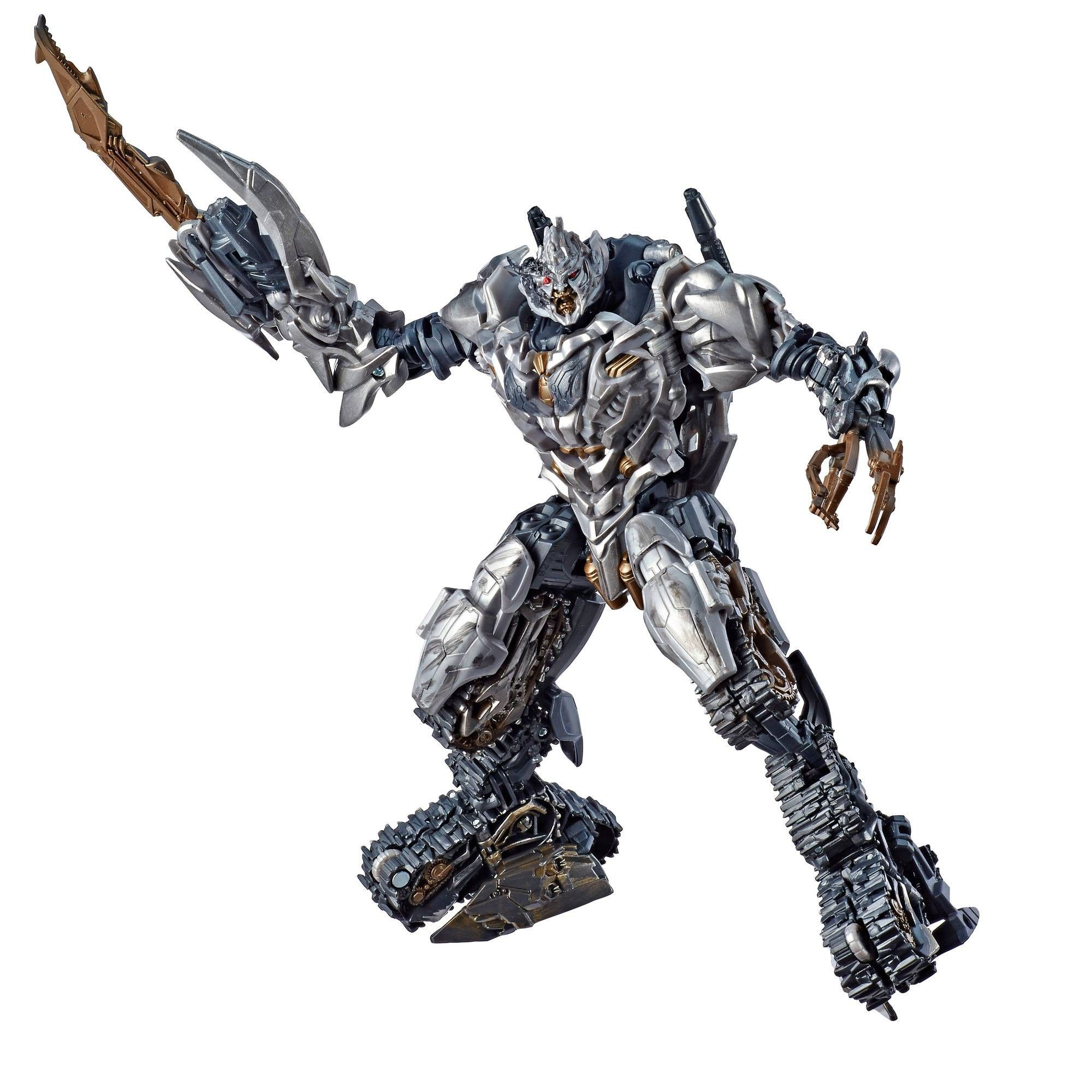 Hasbro Transformers Studio Series Voyager 31 BATTLE DAMAGED MEGATRON InHand